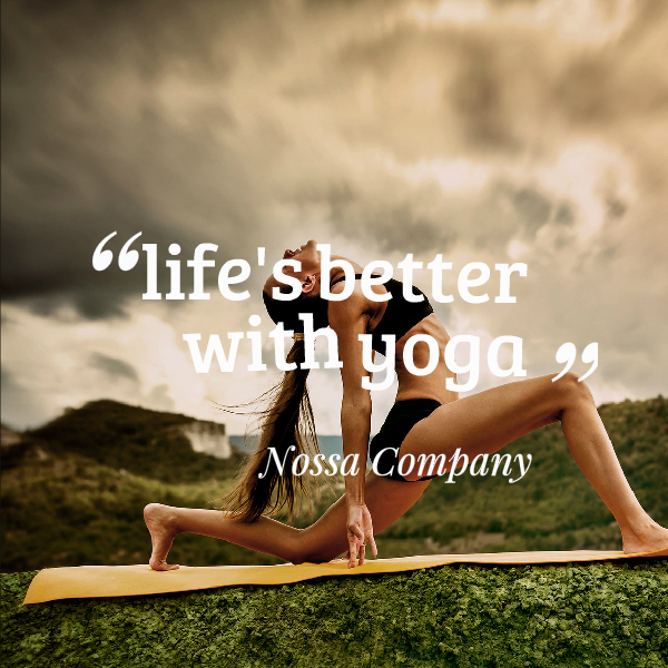 Lifes Better With Yoga Quote