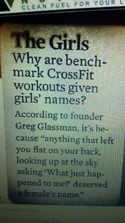 The Crossfit Girls Explained
