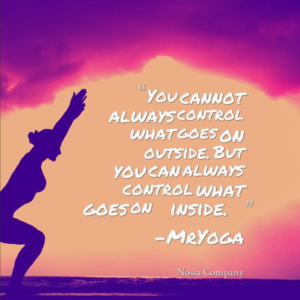 Mr. Yoga Quote